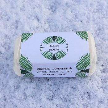 organic-lavender-lemon-essential-oil-honey-handmade-soap
